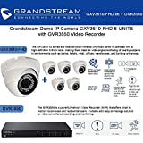 Grandstream Dome IP Camera GXV3610-FHD 6UNITS w/ GVR3550 Video Recorder