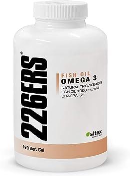 226ERS Omega 3 Fish Oil, Aceite de Pescado con DHA/EPA - 120 cápsulas