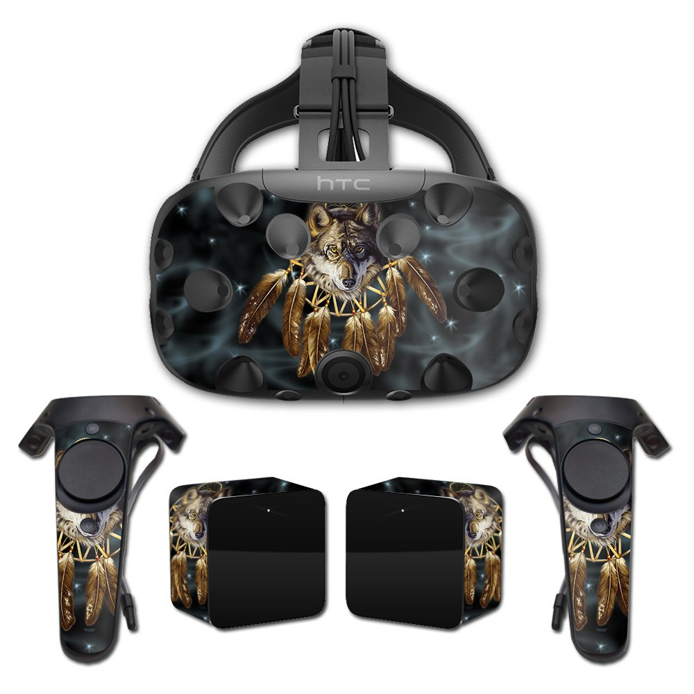 MightySkins Skin For HTC Vive Full Coverage - Wolf Dreams | Protective, Durable, and Unique Vinyl Decal wrap cover | Easy To Apply, Remove, and Change Styles | Made in the USA