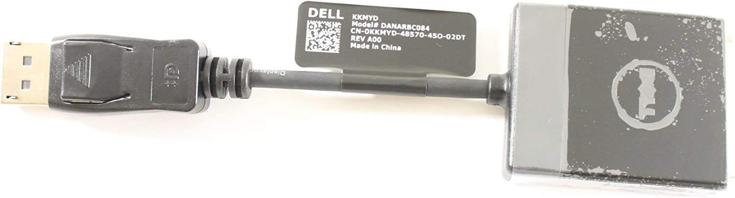 Dell KKMYD Display Port to DVI Video Dongle Adapter Cable DANARBC084 Optiplex 780