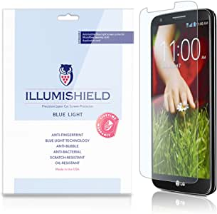 Amazon Com Illumishield Lg G2 Hd Blue Light Uv Filter