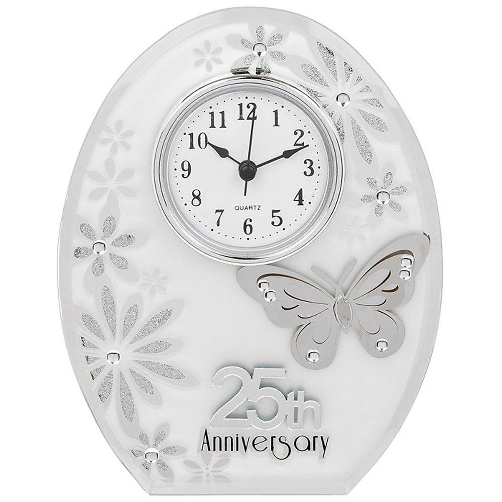 Butterfly Anniversary Clock 25 Years Joe Davies