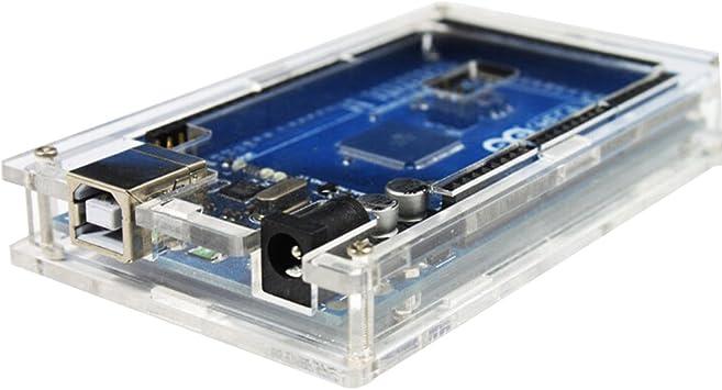 Amazingdeal365 Transparente caja de acrílico Caja Caja de brillo ...