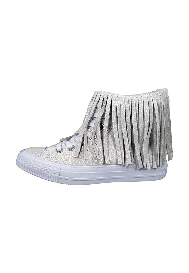 29937aa949d1 ... fashion styles e00fb 4d87f Converse Chucks Sting Ray Leather Fringe  553332C Franzen White White