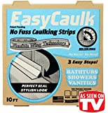 EasyCaulk Bathtub, Shower & Vanity Caulk Strip