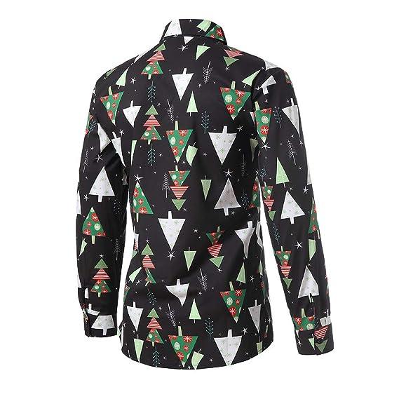 Amazon.com: haoricu Camisas de vestir para hombre con diseño ...