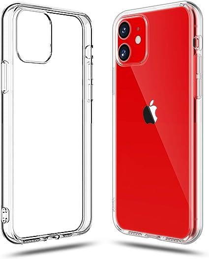 Shamo's Cover per iPhone 11 Trasparente Gel Custodia Morbida Silicone AntiGraffio e Antiurto Sottile TPU, Chiaro