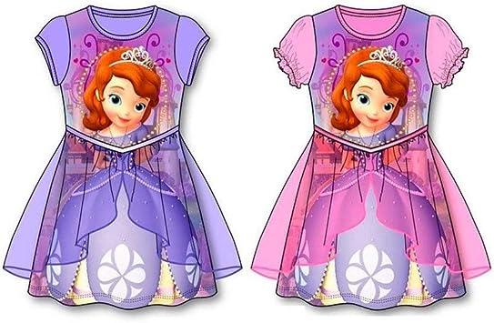 DISBACANAL Pack Disfraces Princesa Sofía Infantil - -, 5-6 años ...