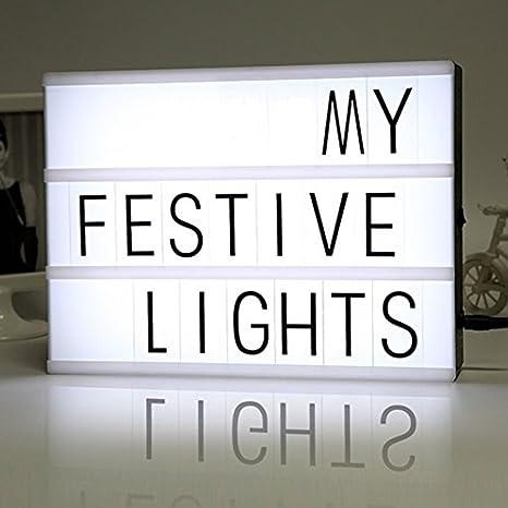 Caja de Luz con pilas cinematográfica y el puerto DC modo Energizado Tamaño A4 Acrílico caja