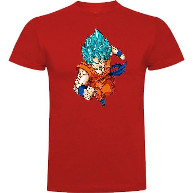 Camiseta de Hombre Dragon Ball Son Goku Anime Vegeta Piccolo Akira Toriyama S