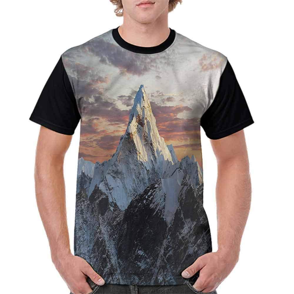 Trend t-Shirt,Mountain Nepal Everest Fashion Personality Customization