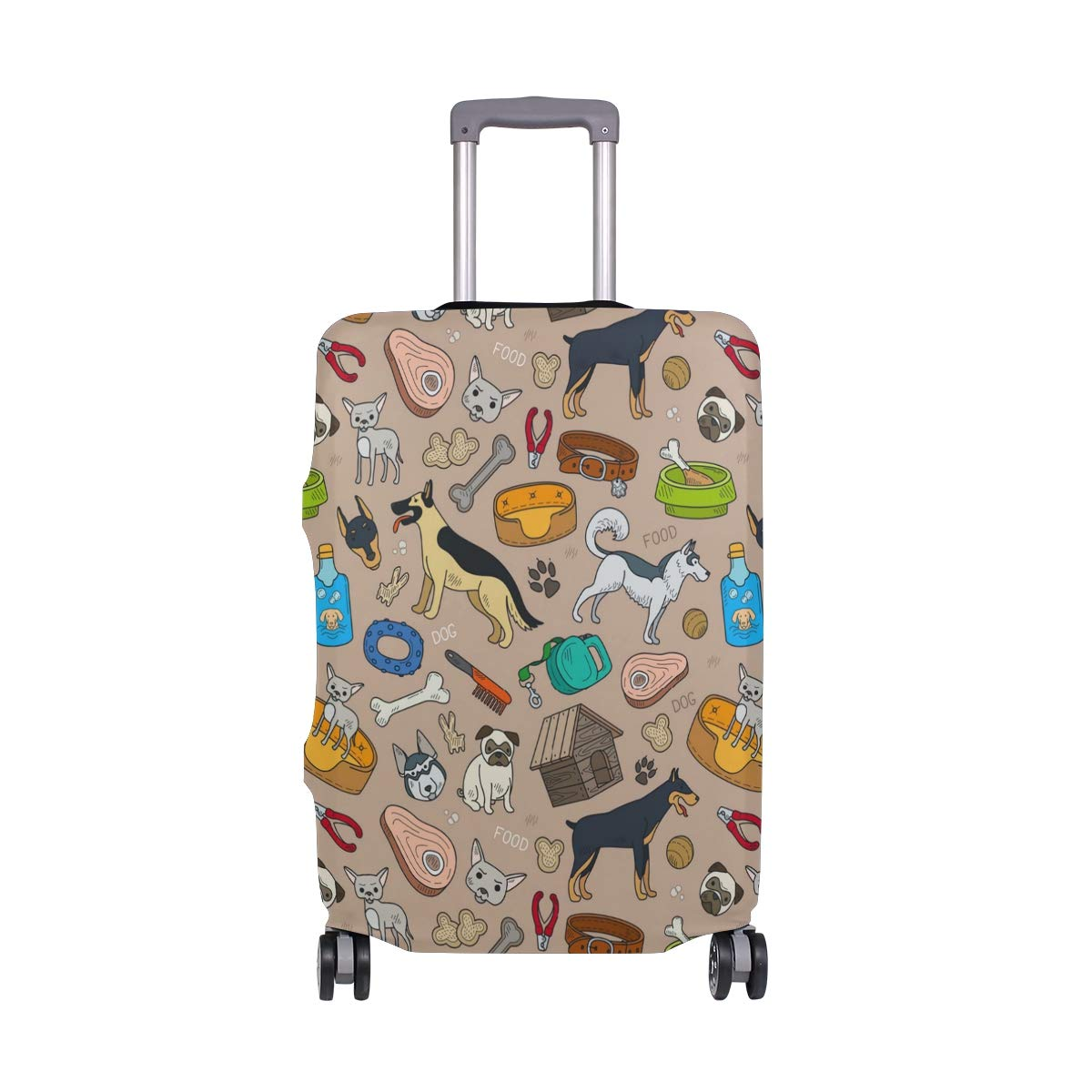 Dog Beds Accessories Traveler Lightweight Rotating Luggage Protector Case Can Carry With You Can Expand Travel Bag Trolley Rolling Luggage Protector Case