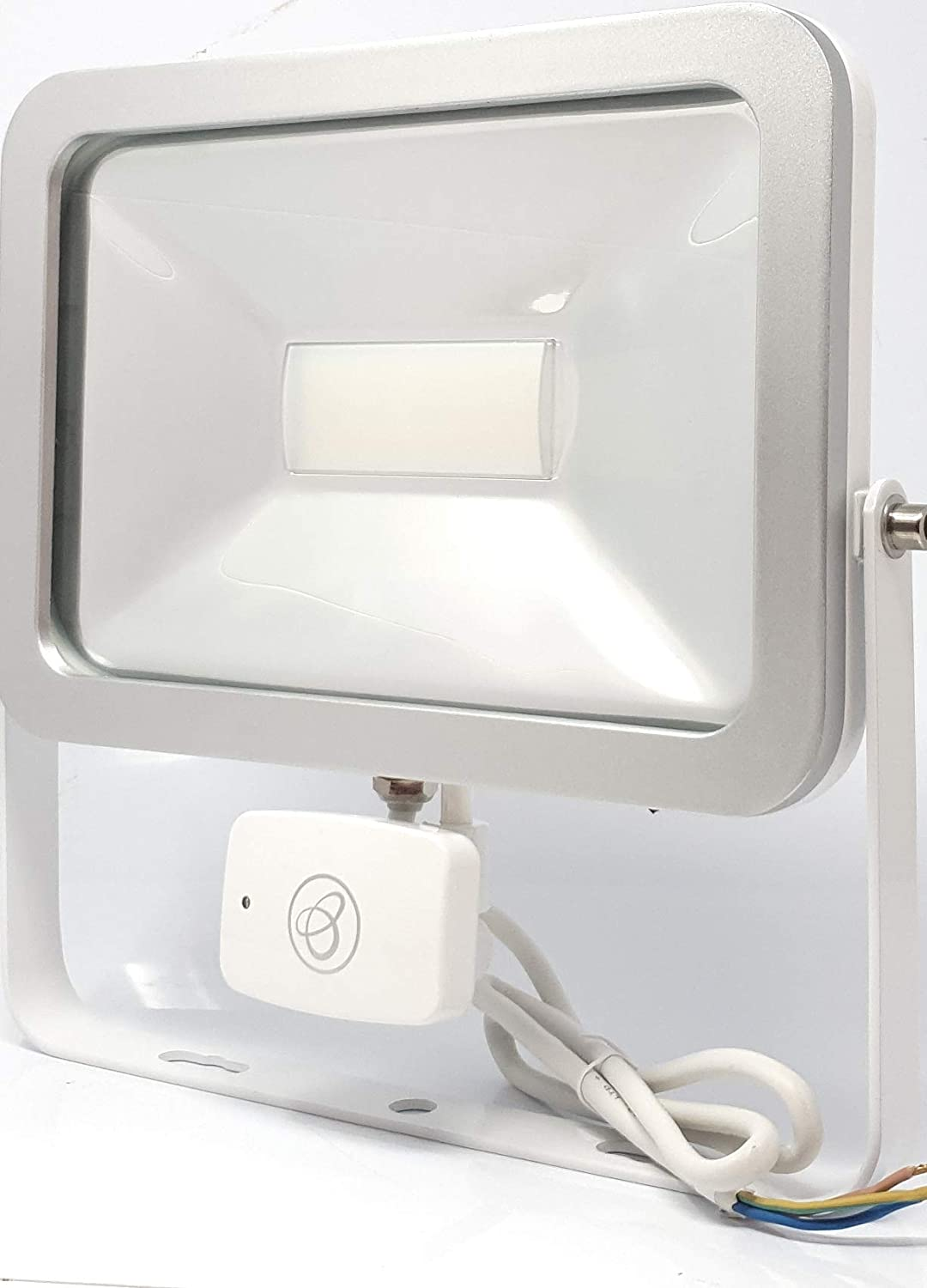 LED SECURITY FLOODLIGHT NEW IN BOX WITH SENSOR PIR THIN BLACK ISPOT10w IP65