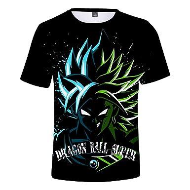 JXKEF Impresora De Camisetas 3D Anime Dragon Ball Hombre ...