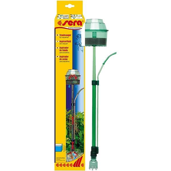 Sera 08550 - Aspirador para acuario elimina cuidadosamente el ...