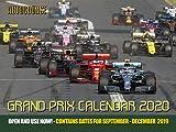 Autocourse 2020 Grand Prix Calendar: Contains Dates for September - December 2019