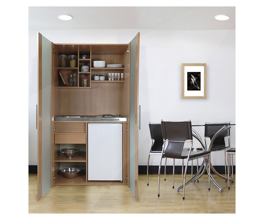 respekta SKBMG Single Büro Pantry Küche Miniküche Schrankküche ...