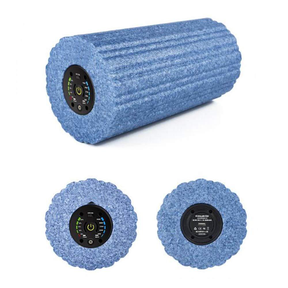 深いティッシュ筋肉マッサージのための電気泡筋肉ローラー高硬度トリガーポイント治療フィットネス/ヨガ/ピラティスに適して,L B07RWMKFPL  Large