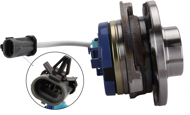 Madlife Garage 1603209 Roulement de roue avant 4 STUD avec capteur de semences ABS pour Astra G MK4 1998-2006