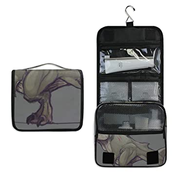 17fe3daac99f Amazon.com : Hanging Toiletry Bag Tiranodon Megalo Rex Large ...