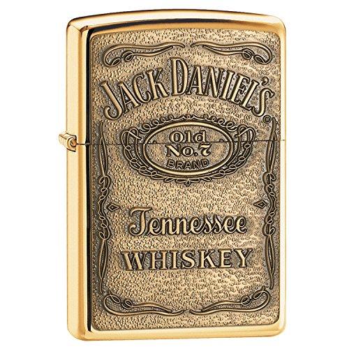 High Polish Brass, Jack Daniel's Label, Polish Brass Jack Daniels Label
