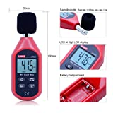 OUTEST Noise Decibel Meter Sound Level Monitor