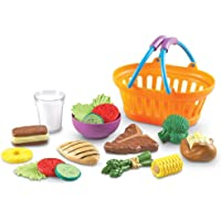 Deals on Learning Resources New Sprouts Dinner Foods Basket 18 Pc