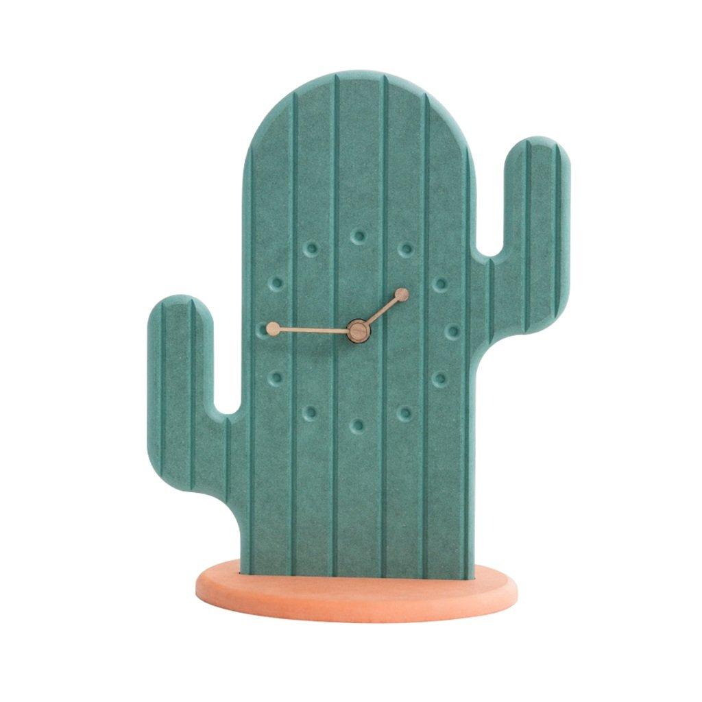 CFJRB卓上時計、スタイリッシュなデスク時計の居間にアンティークのクォーツ時計と棚の時計を装飾 B07C9SYS57