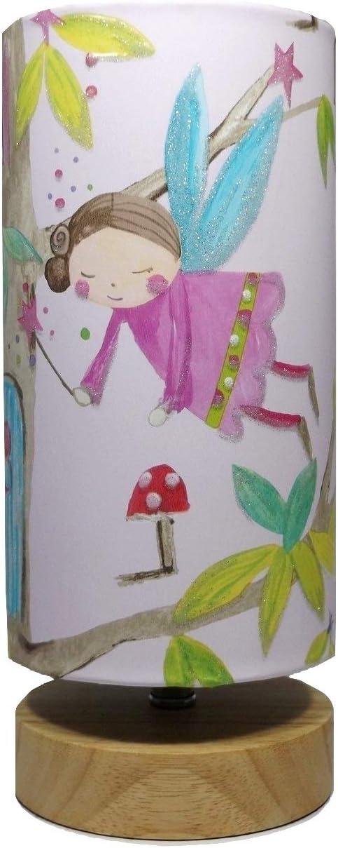 ARTHOUSE WOODLAND FAIRIES TREE FAIRY BEAR GIRLS GLITTER CHILDRENS WALLPAPER PINK