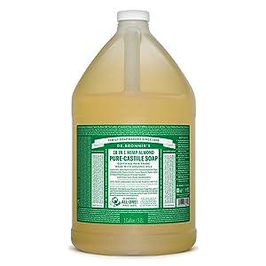 Dr. Bronner's - Pure-Castile Liquid Soap (Almond, 1 Gallon)