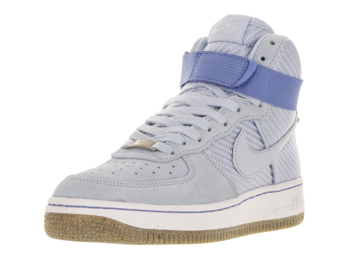 Nike Women's Air Force 1 Hi Premium Black/Black Gum Med Brown Sail Basketball Shoe B01GX2VC8W 10 B(M) US Porpoise Porpoise 401