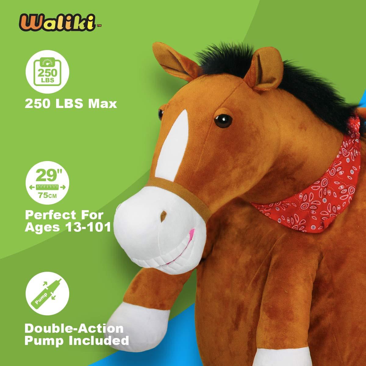 Amazon.com: Bola de salto para adultos WALIKI TOYS (bola ...