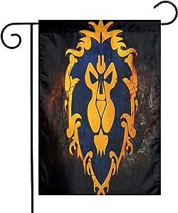 Joseph E Hinton World of Warcraft Garden Flag,Home Rustic Garden Yard Decorations,Seasonal Outdoor Flag 12 X 18inches