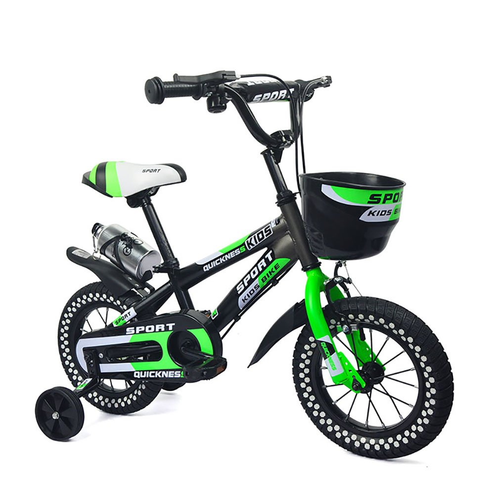 子供の自転車ベビーペダル自転車2-4-6-7-8歳の赤ちゃんキャリッジ少年少女自転車マウンテンバイクグリーンオレンジ B07DYL58L3オレンジ 14 inch