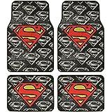 Superman Super Hero Carpet Floor Mats4 Piece Warner Brothers Licensed Products