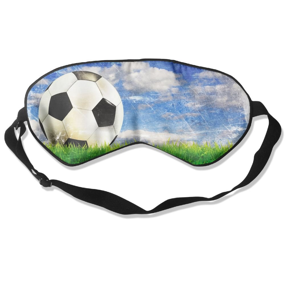 Soccer Sports Sleep Eyes Masks - Comfortable Sleeping Mask Eye Cover For Travelling Night Noon Nap Mediation Yoga