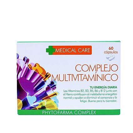 PHYTOFARMA MEDICAL CARE Complejo Multivitamínico 60 cápsulas