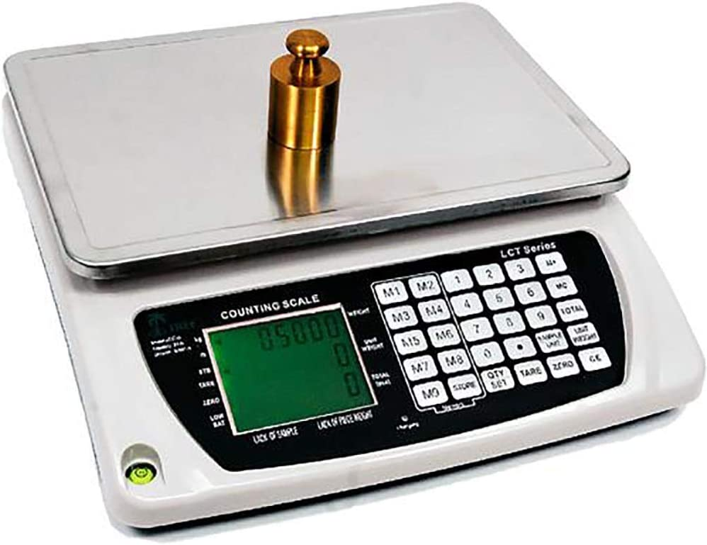 LW Measurements Tree TSC-1202 High Resolution Touch Screen Balance with Glass Draft Shield 1200 g x 0.01 g