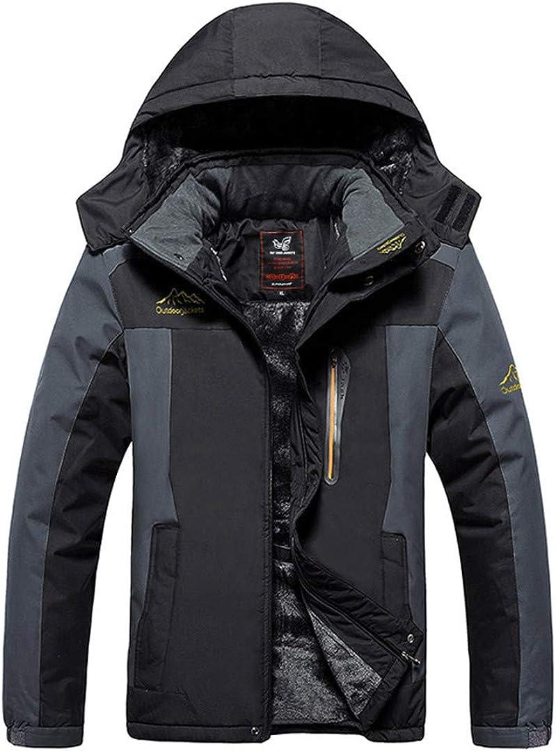 Outwear Winter Jacket Men Thick Warm Windproof Coat Casual Coat