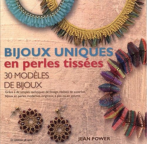Bijoux uniques en perles tissées