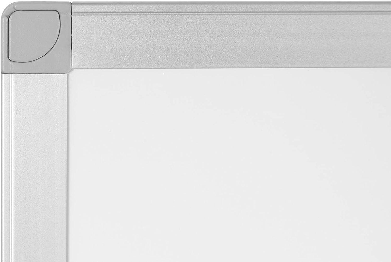 120 x 90 cm Aluminium Frame BoardsPlus Non-Magnetic Whiteboard