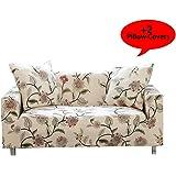 Amazon.com: fanjow tela elástico sofá fundas protectores de ...