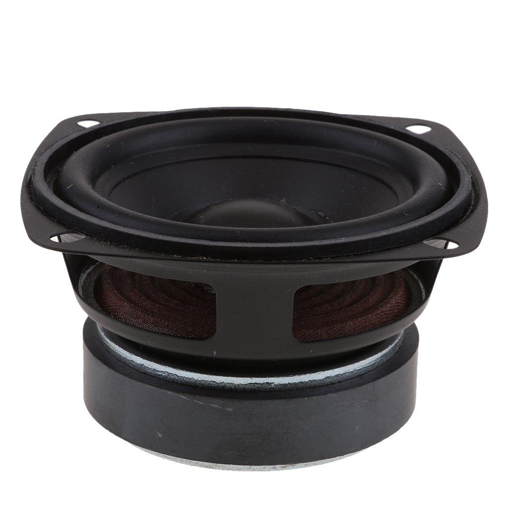 MagiDeal 3  15W Auto-Lautsprecher 4 Ohm KFZ-Lautsprecher Stereo Audio Lautsprecher Subwoofer