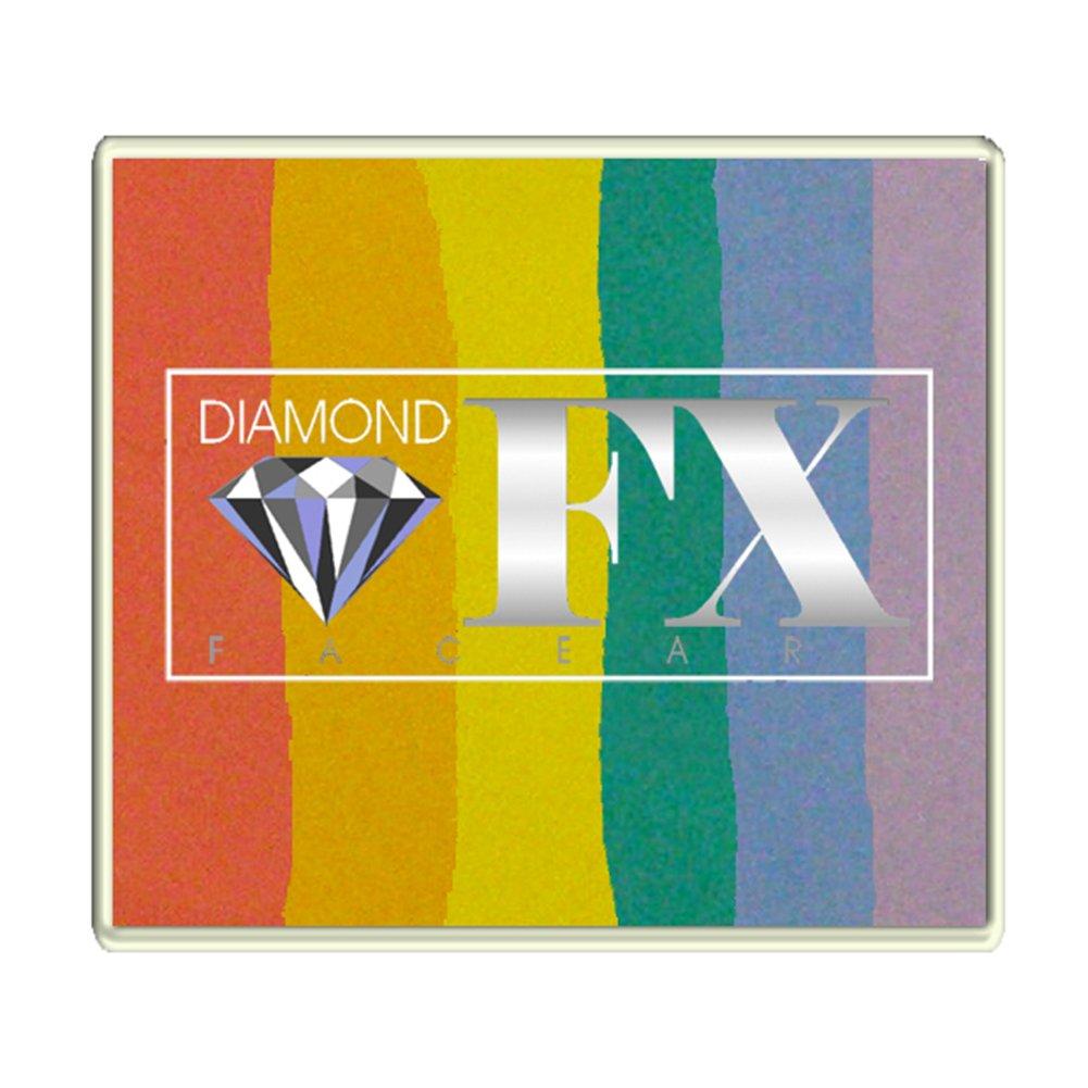 Diamond FX 50g Split Cake Face Paint ~ Blurred Lines (RS50-4) by Diamond FX Split Cakes