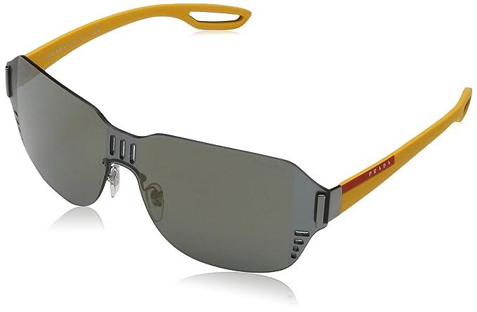 Prada Linea Rossa 0PS 05SS Gafas de sol, Gunmetal, 40 para ...