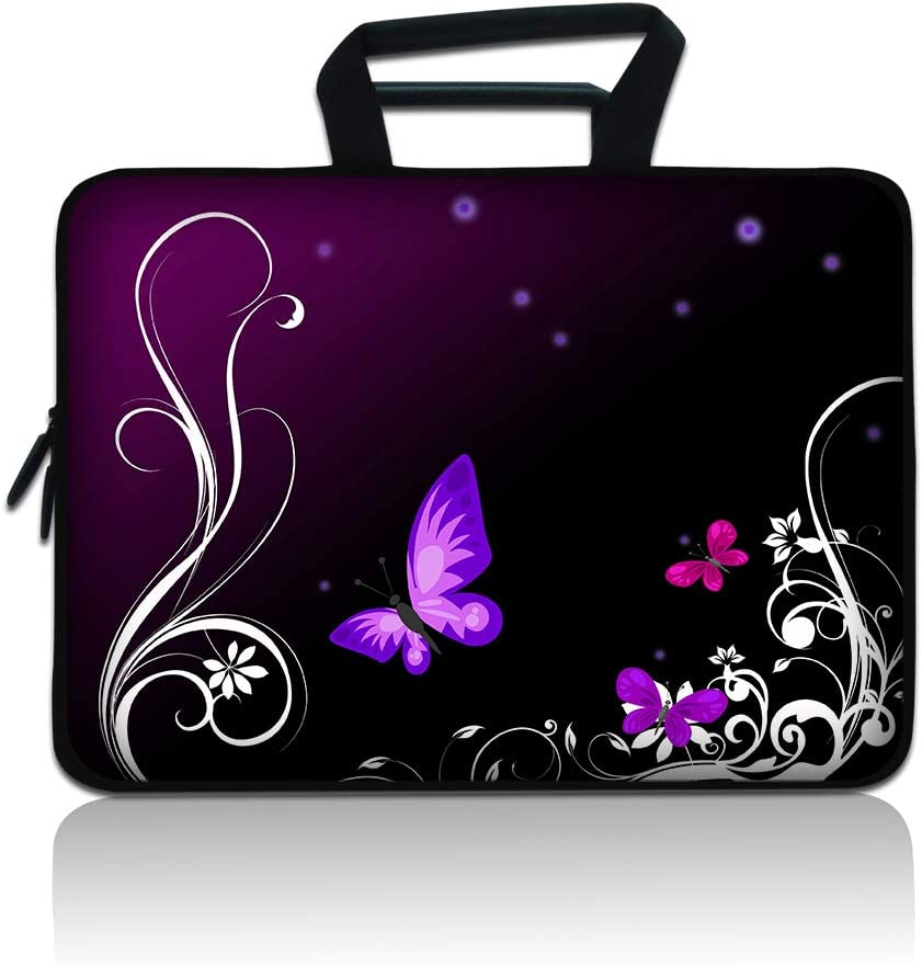 "Laptop Sleeve 15 inch 15.6"" Neoprene Protector Bag Ultrabook Notebook Chromebook Computers Carrying Case Cover for 15.6 15"" MacBook Pro HP Dell Acer Asus Samsung Toshiba Lenovo Huawei Sony"