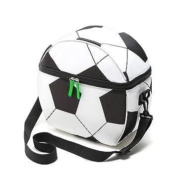 LHY TRAVEL Bolsa de fútbol Forma,Bolsa Aislante,Bolsa de Picnic, portátil Enfriador Cesta de Picnic,Bolsa Aislado,Bolsa IsotéRmica,Camping Picnic ...