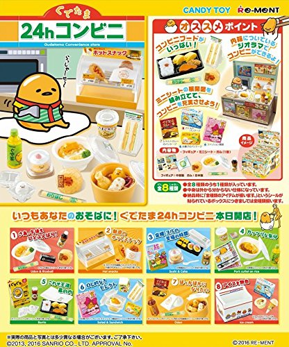 To prevent in until 24 h convenience store eight pieces shokugan / gum (to avoid in Saitama) by Re-Ment (Image #9)