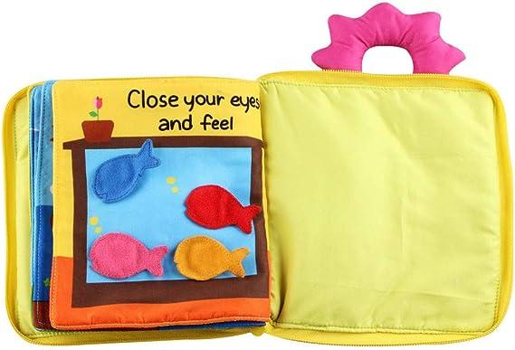 Libros para bebés,CHshe,Animales Paño suave Bebé Inteligencia Desarrollo Aprender Imagen Cognize Libro,El mejor regalo para tu hijo,Juguetes educativos para niños: Amazon.es: Bricolaje y herramientas