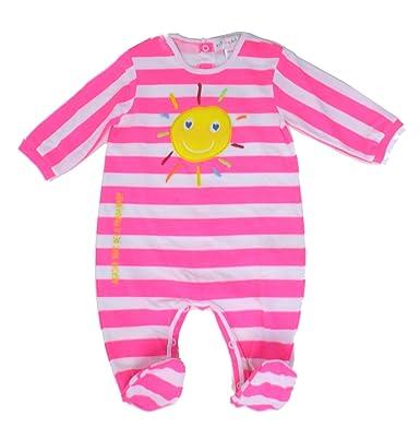 Agatha Ruiz De La Prada Shocking Pink Sunshine Footie (9 Months)
